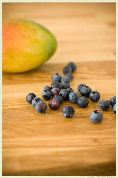 mango heidelbeere