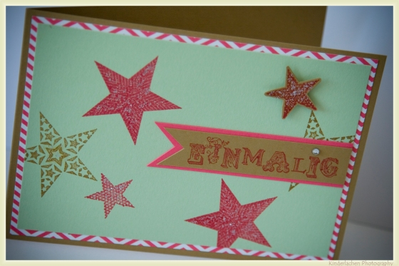 stampin up einmalig