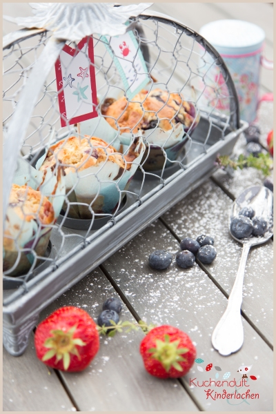 blaubeer erdbeer muffins weiße schokolade 3