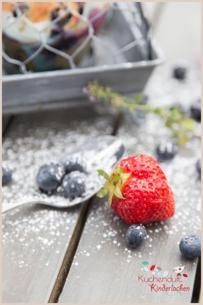 blaubeer erdbeer muffins weiße schokolade 4
