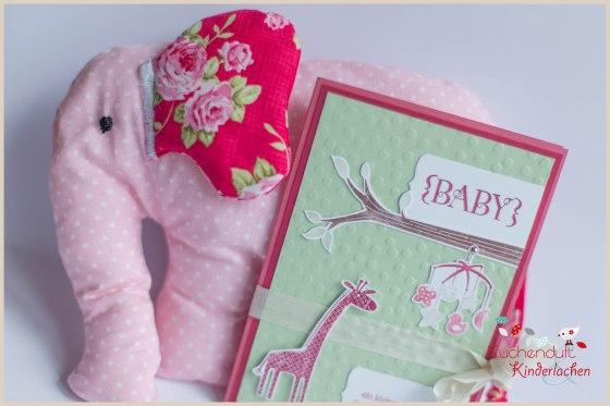 Stampin up_neuhofen_mannheim_geburt_baby_take care_zoo babies_elefant_nähen_2